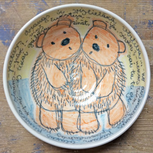 Bowl with bears