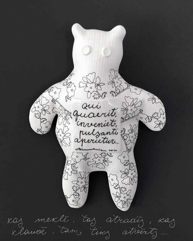 Sienas dekors - lācis
