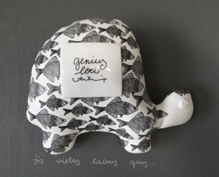 Sienas dekors - bruņurupucis